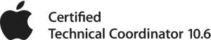 Apple Certified Technical Coordinator 10.6 Logo