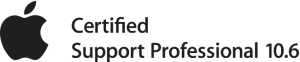 Apple Support Professional 10.6 Logo